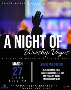 A Night of Worship Vegas @ Nehemiah Ministries